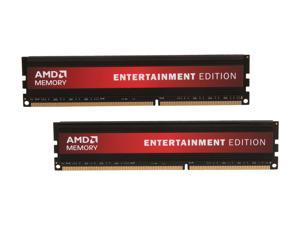 AMD Entertainment Edition 16GB (2 x 8GB) 240-Pin DDR3 SDRAM DDR3 1600 (PC3 12800) Desktop Memory Model Radeon RE1600 (AE316G1601U2K)