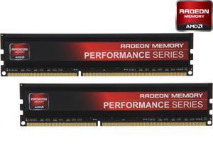 AMD Performance Edition 16GB (2 x 8GB) 240-Pin DDR3 SDRAM DDR3 1866 (PC3 14900) Desktop Memory Model Radeon RP1866  (AP316G1869U2K)