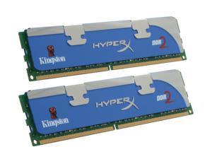 HyperX 4GB (2 x 2GB) 240-Pin DDR2 SDRAM DDR2 1066 (PC2 8500) Dual Channel Kit Desktop Memory Model KHX8500AD2K2/4G