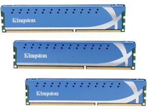 HyperX 6GB (3 x 2GB) 240-Pin DDR3 SDRAM DDR3 1600 (PC3 12800) Desktop Memory