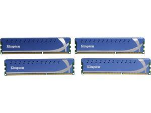HyperX 16GB (4 x 4GB) 240-Pin DDR3 SDRAM DDR3 1600 (PC3 12800) Desktop Memory Model KHX1600C9D3K4/16GX