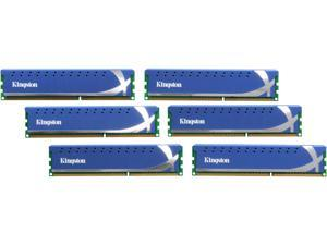 HyperX 24GB (6 x 4GB) 240-Pin DDR3 SDRAM DDR3 1600 (PC3 12800) Desktop Memory