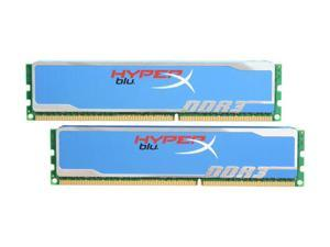 HyperX Blu 4GB (2 x 2GB) 240-Pin DDR3 SDRAM DDR3 1600 (PC3 12800) Desktop Memory Model KHX1600C9D3B1K2/4G