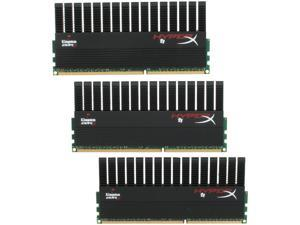 HyperX T1 Black Series 6GB (3 x 2GB) 240-Pin DDR3 SDRAM DDR3 1600 (PC3 12800) Desktop Memory