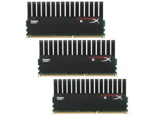 HyperX T1 Black Series 12GB (3 x 4GB) 240-Pin DDR3 SDRAM DDR3 1600 (PC3 12800) Desktop Memory Model KHX1600C9D3T1BK3/12GX