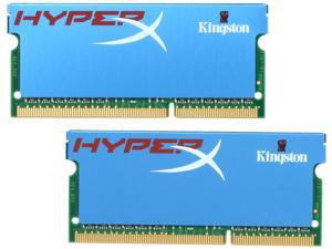 HyperX 8GB (2 x 4GB) 204-Pin DDR3 SO-DIMM DDR3 1600 (PC3 12800) Laptop Memory Model KHX1600C9S3K2/8G