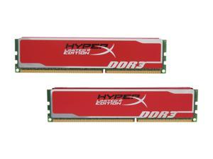HyperX Blu 8GB (2 x 4GB) 240-Pin DDR3 SDRAM DDR3 1600 (PC3 12800) Desktop Memory Red Limited Edition