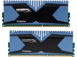 HyperX Predator Series 8GB (2 x 4GB) 240-Pin DDR3 SDRAM DDR3 2400 Desktop Memory Model KHX24C11T2K2/8X