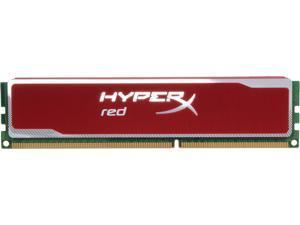 HyperX Blu Red Series 4GB 240-Pin DDR3 SDRAM DDR3 1600 Desktop Memory Model KHX16C9B1R/4
