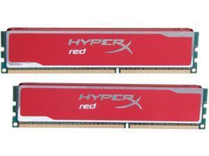 HyperX XMP Blu Red Series 8GB (2 x 4GB) 240-Pin DDR3 SDRAM DDR3 1600 Desktop Memory Model KHX16C9B1RK2/8X