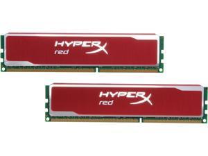HyperX Blu Red Series 16GB (2 x 8GB) 240-Pin DDR3 SDRAM DDR3 1600 Desktop Memory Model KHX16C10B1RK2/16