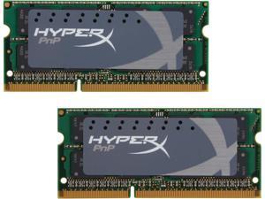 HyperX 16GB (2 x 8G) 204-Pin DDR3 SO-DIMM DDR3L 1600 (PC3L 12800) Laptop Memory Model KHX16LS9P1K2/16