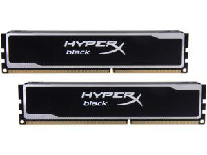 HyperX Black 8GB (2 x 4GB) 240-Pin DDR3 SDRAM DDR3 1600 (PC3 12800) Desktop Memory Model KHX16C9B1BK2/8X
