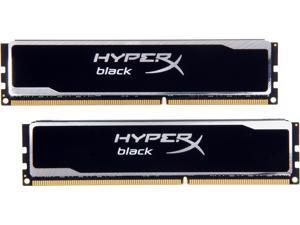 HyperX Black Series 8GB (2 x 4GB) 240-Pin DDR3 SDRAM DDR3 1333 Desktop Memory Model KHX13C9B1BK2/8