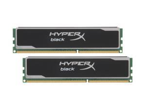 HyperX XMP Black Series 4GB (2 x 2GB) 240-Pin DDR3 SDRAM DDR3 1600 (PC3 12800) Desktop Memory