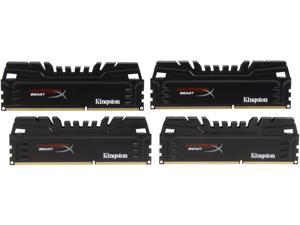 HyperX Beast Series 16GB (4 x 4GB) 240-Pin DDR3 SDRAM DDR3 1866 Desktop Memory Model KHX18C10T3K4/16