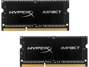 HyperX 16GB (2 x 8G) DDR3L 1866 (PC3L 14900) Laptop Memory Model HX318LS11IBK2/16