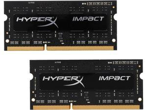 HyperX 8GB (2 x 4GB) DDR3L 1866 (PC3L 14900) Laptop Memory Model HX318LS11IBK2/8