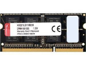 HyperX Impact 8GB 204-Pin DDR3 SO-DIMM DDR3L 2133 (PC3L 17000) Laptop Memory Model HX321LS11IB2/8