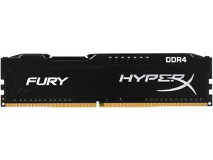 HyperX FURY 4GB 288-Pin DDR4 SDRAM DDR4 2400 (PC4 19200) Intel X99 Desktop Memory Model HX424C15FB/4