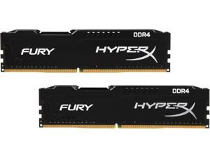 HyperX FURY 8GB (2 x 4GB) 288-Pin DDR4 SDRAM DDR4 2400 (PC4 19200) Intel X99 Desktop Memory Model HX424C15FBK2/8