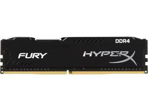 HyperX FURY 4GB 288-Pin DDR4 SDRAM DDR4 2666 (PC4 21300) Intel X99 Desktop Memory Model HX426C15FB/4