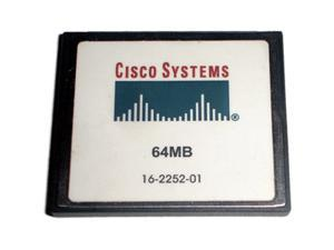 Cisco 64MB Compact Flash (CF) Flash Card Model MEM1800-64CF=