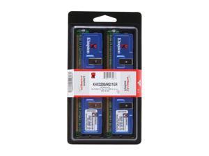HyperX 1GB (2 x 512MB) 184-Pin DDR SDRAM DDR 400 (PC 3200) Dual Channel Kit Desktop Memory Model KHX3200AK2/1GR