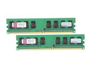 Kingston 2GB (2 x 1GB) 240-Pin DDR2 667 (PC2 5300) Dual Channel Kit Memory
