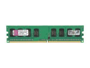 Kingston ValueRAM 1GB 240-Pin DDR2 SDRAM DDR2 667 (PC2 5300) Desktop Memory Model KVR667D2/1GR