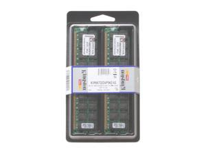 Kingston 4GB (2 x 2GB) 240-Pin DDR2 SDRAM ECC Registered DDR2 667 (PC2 5300) Dual Channel Kit Server Memory Model KVR667D2D4P5K2/4G