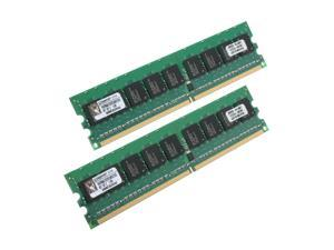 Kingston 2GB (2 x 1GB) 240-Pin DDR2 SDRAM Dual Channel Kit Server Memory Model KVR667D2E5K2/2G