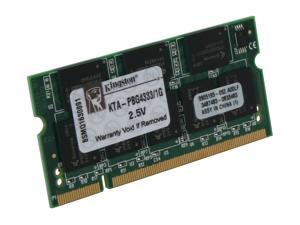 Kingston 1GB 200-Pin DDR SO-DIMM Memory for Apple Notebook