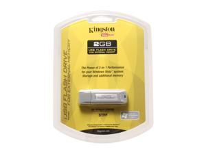 Kingston DataTraveler 2GB Flash Drive (USB2.0 Portable)