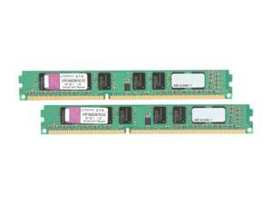 Kingston 2GB (2 x 1GB) DDR3 1066 (PC3 8500) Dual Channel Kit Desktop Memory