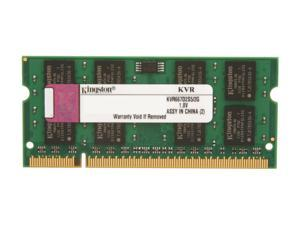 Kingston ValueRAM 2GB 200-Pin DDR2 SO-DIMM DDR2 667 (PC2 5300) Laptop Memory Model KVR667D2S5/2G