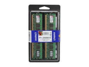 Kingston 2GB (2 x 1GB) 240-Pin DDR2 SDRAM Dual Channel Kit System Specific Memory
