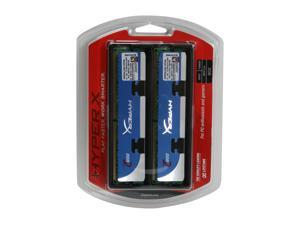 HyperX 2GB (2 x 1GB) 240-Pin DDR2 SDRAM DDR2 800 (PC2 6400) Dual Channel Kit Desktop Memory Model KHX6400D2LLK2/2GR
