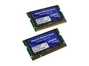 HyperX 4GB (2 x 2GB) 200-Pin DDR2 SO-DIMM DDR2 667 (PC2 5300) Dual Channel Kit Laptop Memory