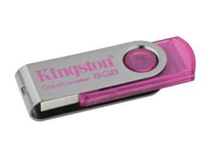 Kingston DataTraveler 101 8GB USB 2.0 Flash Drive (Pink)