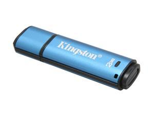 Kingston DataTraveler Vault - Privacy Edition 2GB Flash Drive (USB2.0 Portable) 256bit AES Encryption