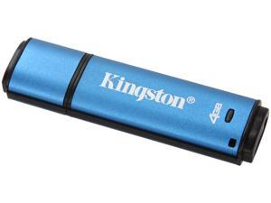 Kingston DataTraveler Vault - Privacy Edition 4GB USB 2.0 Flash Drive 256bit AES Encryption