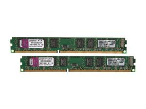 Kingston ValueRAM 4GB (2 x 2GB) 240-Pin DDR3 SDRAM DDR3 1333 (PC3 10600) Desktop Memory