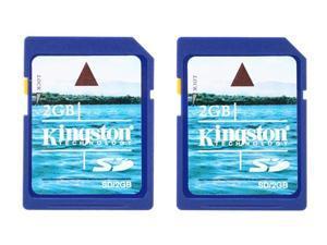 Kingston 4GB (2GB x 2) Secure Digital (SD) Flash Card Twin Pack