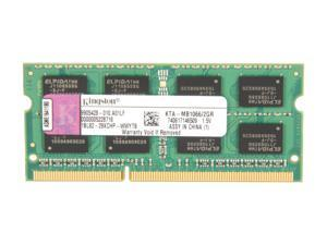 Kingston 2GB 204-Pin DDR3 SO-DIMM DDR3 1066 (PC3 8500) Memory For Apple Model KTA-MB1066/2GR