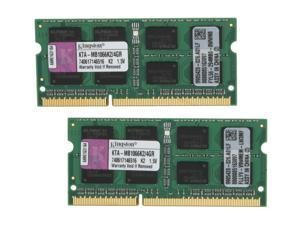 Kingston 4GB (2 x 2GB) 204-Pin DDR3 SO-DIMM Dual Channel Kit Memory For Apple
