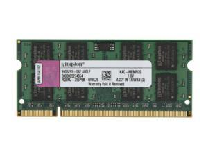 Kingston 2GB 200-Pin DDR2 SO-DIMM DDR2 667 (PC2 5300) Unbuffered System Specific Memory For Acer Model KAC-MEMF/2G