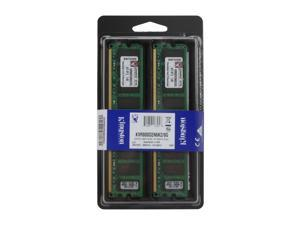 Kingston 8GB (2 x 4GB) 240-Pin DDR2 SDRAM DDR2 800 (PC2 6400) Dual Channel Kit Desktop Memory Model KVR800D2N6K2/8G