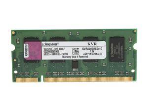 Kingston 1GB 200-Pin DDR2 SO-DIMM DDR2 800 (PC2 6400) Laptop Memory Model KVR800D2S6/1G