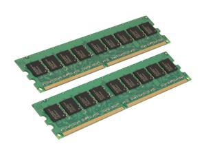 Kingston 4GB (2 x 2GB) 240-Pin DDR2 SDRAM ECC Unbuffered DDR2 800 (PC2 6400) Desktop Memory Model KVR800D2E6K2/4G
